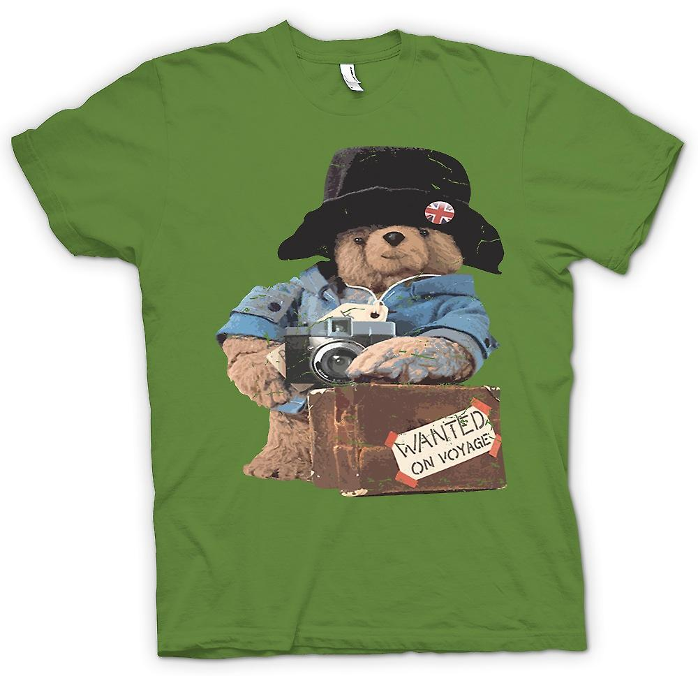 Mens T-shirt - Paddington Bear - wollte auf Reise