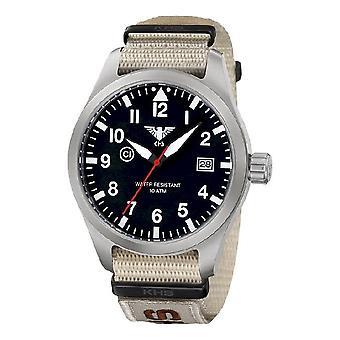 KHS watches mens watch Airleader steel KHS. AIRS. NXTLT5