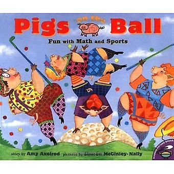 Grisar på bollen: kul med matte och sport (svin blir svin)