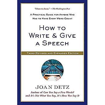 Hur man skriver & ge ett tal: en praktisk Guide för alla som har att göra varje ord räknas