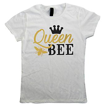 Queen Bee Crown, Womens Funny T Shirt   Funny Novelty Perfect Gift Present For Mum Mom Mama Ladies   Mothers Day Birthday Christmas from Daughter Son Grandson