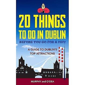 20 saker att göra i Dublin innan du går för en Pint: en Guide till Dublins främsta sevärdheter