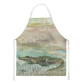 Carolines Treasures  SC2016APRON Alligator Sunset Apron