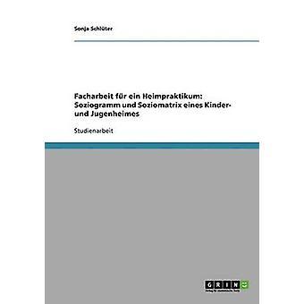 Facharbeit fr ein Heimpraktikum Soziogramm und Soziomatrix eines Kinder und Jugenheimes di Schlter & Sonja