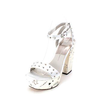 Dolce Vita Womens Liberty Leather Open Toe Casual Platform Sandals
