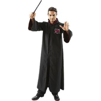 Orion Costumes Unisex Wizard Witch Hooded Robe Fancy Dress Fancy