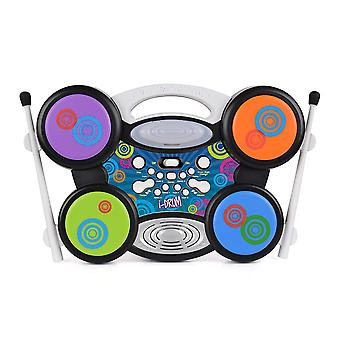 Toyrific i-Drum MP3 Plug & Play Electric Drum Set