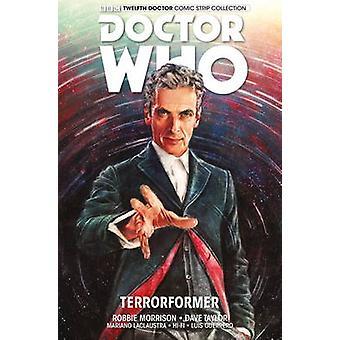 Doktor hvem-den tolvte læge-bind 1 af Robbie Morrison-Alice X