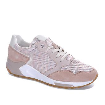 Womens Geox Phyteam trainers in zalm/antiek roos