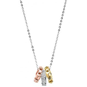 Michael Kors collar and pendant MKC1142AN998 - Lier MERCER LINK TRI-TONE Women's necklace and pendant