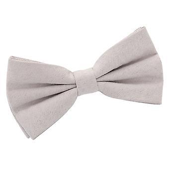 Dove Grey Suede pre-bundet bow tie
