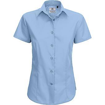 B&C Collection - B&C Smart Long Sleeve Shirt - Ladies Womens - Business Workwear