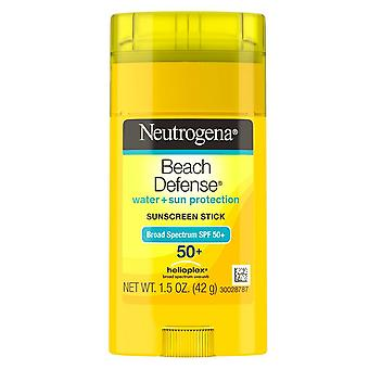 Neutrogena beach defense stick, spf 50+, 1.5 oz