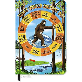 Character Goods - Archie McPhee - Bigfoot Spinner Notebook New 12853