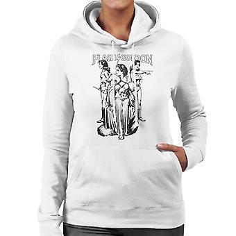 Flash Gordon Dale Trio Frauen's Kapuzen Sweatshirt