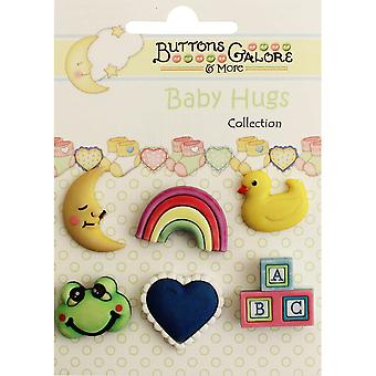 Baby Hugs Buttons-Nursery Time BH-104