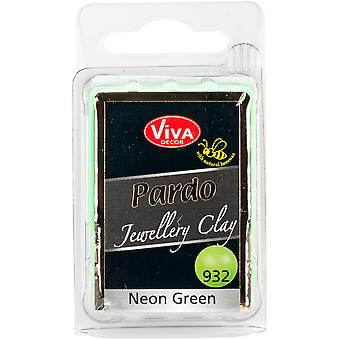 PARDO Jewelry Clay 56g-Neon Green PARDO-93260