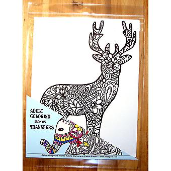 Deer Coloring Transfer-9