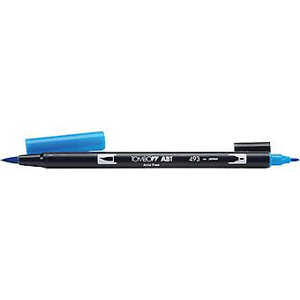 Tombow Dual Brush Marker Open Stock 493 Reflex Blue Dbp 56555