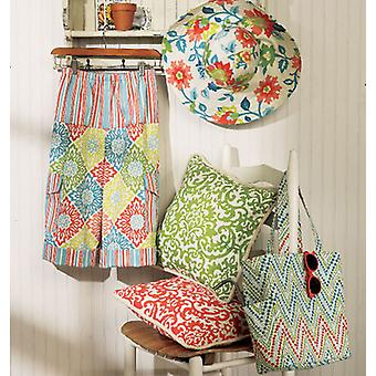 Pillow, Pants, Hat And Tote  Xs  S  M Pattern B5933  0Y0