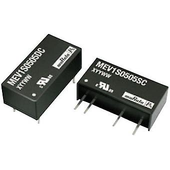 DC/DC converter (print) Murata Power Solutions 24 Vdc 9 Vdc 111 mA 1 W No. of outputs: 1 x