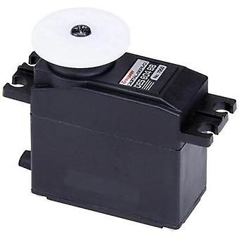 Graupner Standard servo Digital servo Gear box material: Carbon Connector system: JR