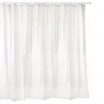 Tatay Polyester shower curtain 220 X 200 White (DIY , Hardware)