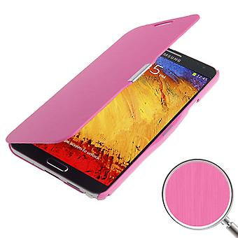 Cell phone cover case for Samsung Galaxy touch 3 N9000 pink brushed
