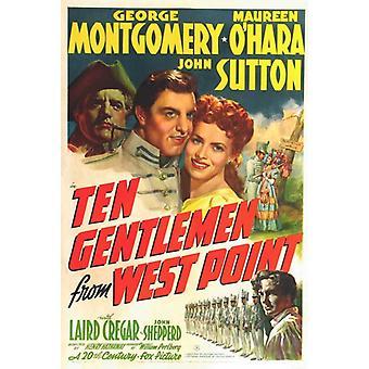 Ten Gentlemen from West Point Movie Poster Print (27 x 40)
