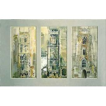 Three Suffolk Towers Poster Print by John Piper (39 x 27)