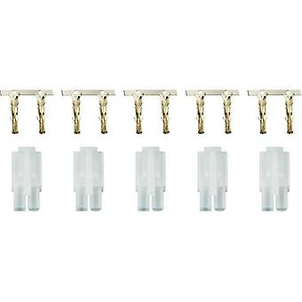 Battery receptacle Tamiya Gold-plated 1 Set Modelcraft 208290