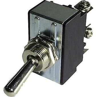 Toggle switch 250 Vac 10 A 1 x Off/On SCI R13-28A-06 latch 1 pc(s)