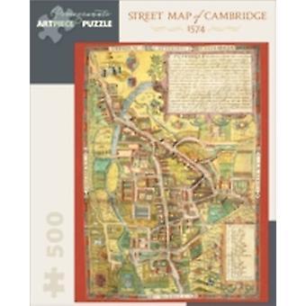 STREET MAP OF CAMBRIDGE 500PIECE JIGSAW