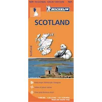 Scotland Map by Michelin