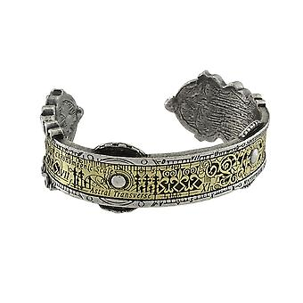 Alchemy Gothic Spectrostatic Nocturnium Pewter Cuff Bracelet