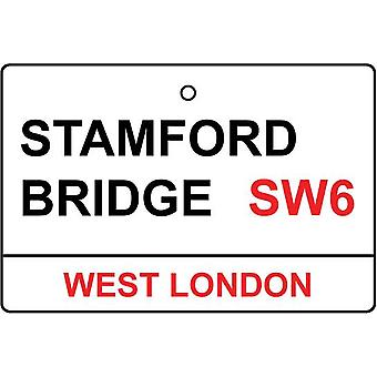 Chelsea / Stamford Bridge Street Sign Car Air Freshener