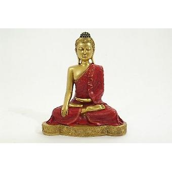Sitting Thai Buddha Figurine Gift Set Statue