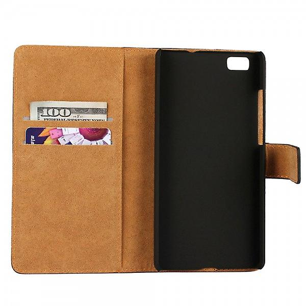 Pocket wallet Deluxe purple for Huawei Ascend P8 Lite