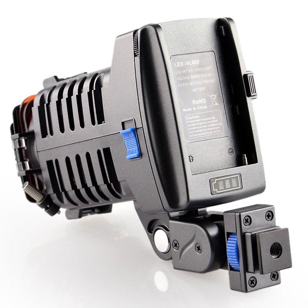 Dot.Foto VL-005 profesjonell 4-LED lys digitale videokamera kamera fotografering lampe justerbar