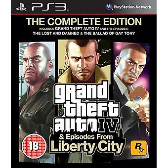 Grand Theft Auto IV Complete Edition PS3 Spiel