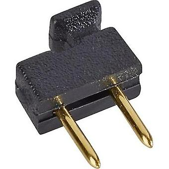 Shorting jumper Contact spacing: 2.54 mm Pins per row:2 W & P Products