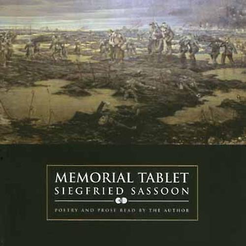 Siegfried Sassoon - Memorial Tablet [CD] USA import