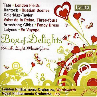 Kasse med lækkerier - kasse med lækkerier: britiske lys musik perler [CD] USA import