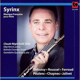 Debussy / Roussel / Regimbald, Claude - Regimbald [CD] USA import