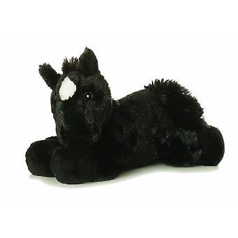 Mini Flopsie 8-inch Black Horse