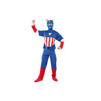 America costume USA America hero costume mens Gr. L