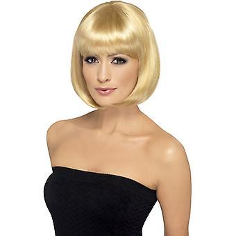 Partyrama wig, 30cm, light brown