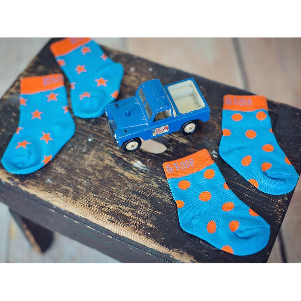 Blade & Rose Orange Polka Dot Children's Socks