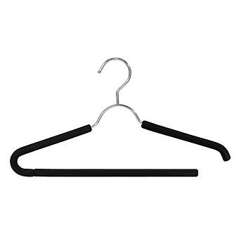 Closet Spice Chrome Suit Hanger - Set of 3