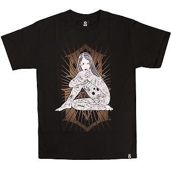 Rebel8 Burst T-shirt Black